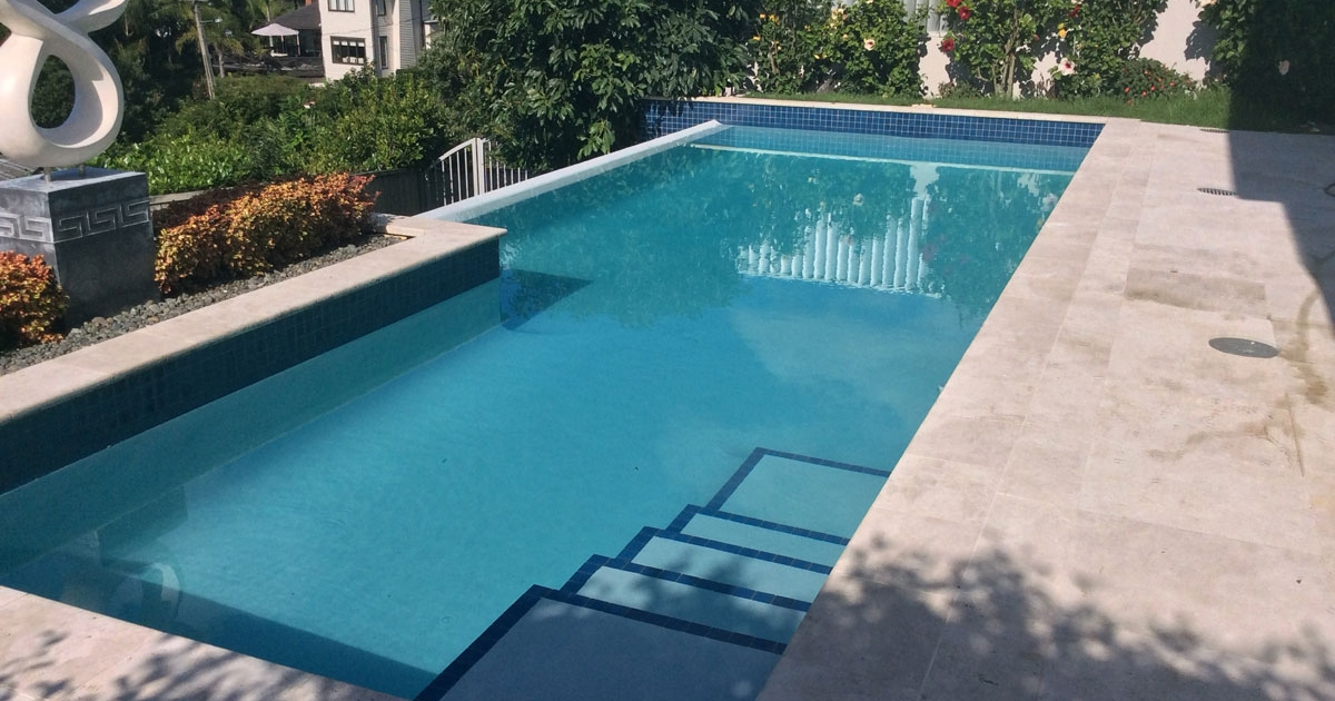 pool excavation and landscaping